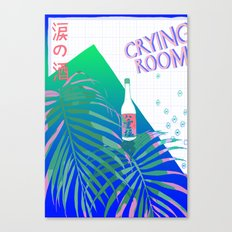 crying room Canvas Print