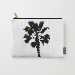 Black & White Palm Carry-All Pouch