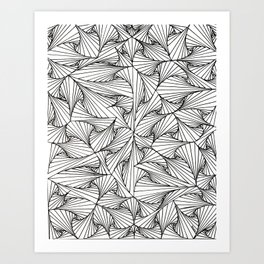 Tangles Art Print
