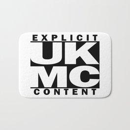 UK MC Explicit Content Bath Mat