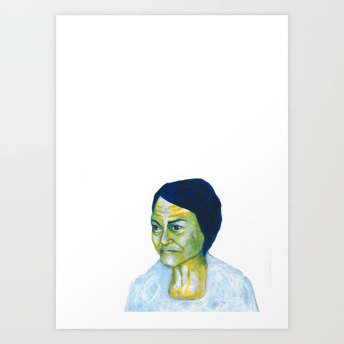 Au travail 18 Art Print