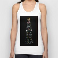 dress Tank Tops featuring Dress by Danielle Case