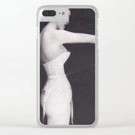 Boudoir Clear iPhone Case