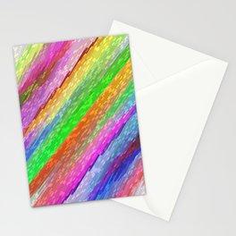 Colorful digital art splashing G479 Stationery Cards