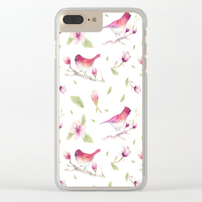 Spring is in the air #38 Clear iPhone Case