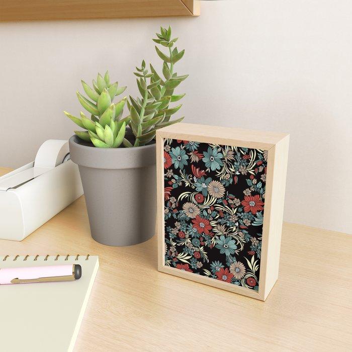 The garden grows Framed Mini Art Print