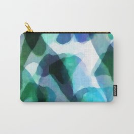 Soft Touch Watercolor Abstract by Menega Sabidussi Carry-All Pouch
