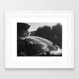 la fontaine de jouvence Framed Art Print