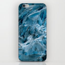 Blue Ice Glacier in Norway - Landscape Photography iPhone Skin