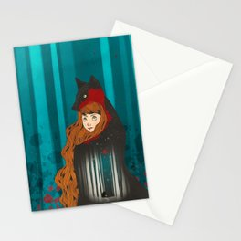 Litte Red Stationery Cards