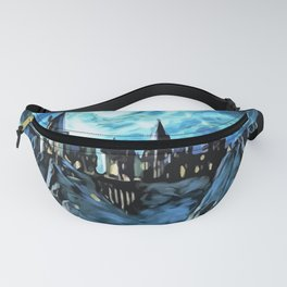 Starry night in castle - part 2 Fanny Pack