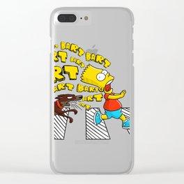 Bart, bart, bart! Clear iPhone Case