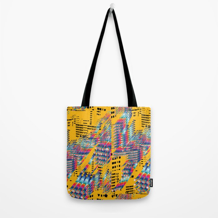 Fragmented Worlds IV Tote Bag