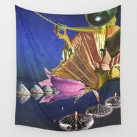 prism Wall Tapestries featuring Prism by Paper Prisms