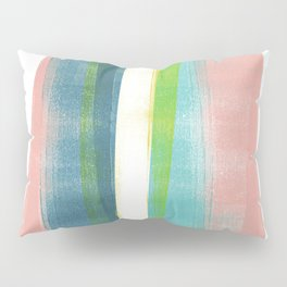 Colorful Geometric Abstract Minimalist Monotype 2 Pillow Sham