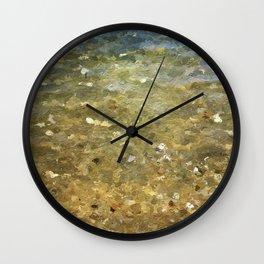 Plage de Saint-Clair - Paix - France Wall Clock