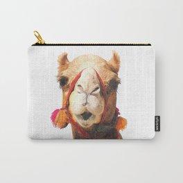 Camel Portrait Carry-All Pouch