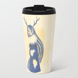 Lady Blue Travel Mug