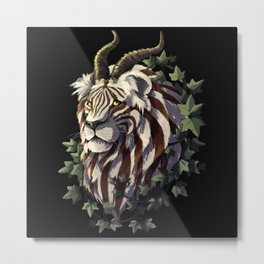 The Hybrid Creature Metal Print
