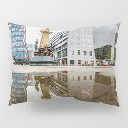 Reflection of the Market Hall Pillow Sham