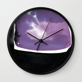 Introspection 2M by Kathy Morton Stanion Wall Clock