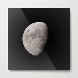 4K Dark Side of the Moon Original Metal Print
