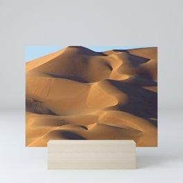 Sand Dunes Sahara Desert Landscape 16 Mini Art Print