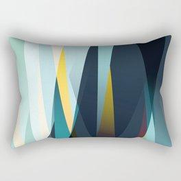 mid century geometry Rectangular Pillow