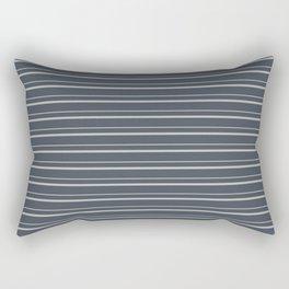 Benjamin Moore 2019 Color of the Year 2019 Metropolitan Light Gray on Hale Navy Blue Gray HC-154 Rectangular Pillow