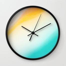 Gemstone_Chrysocolla Wall Clock