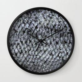 Silver Fish SKIN Wall Clock