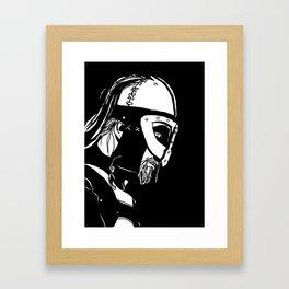 Dark Warrior Framed Art Print