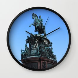 Monument to Nicholas the first. Wall Clock