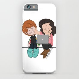 Watching Photographs iPhone Case