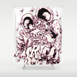 Rat Fink Shower Curtain