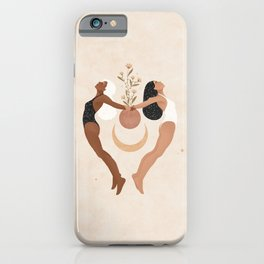 Surround Yourself with Positive Souls iPhone Case