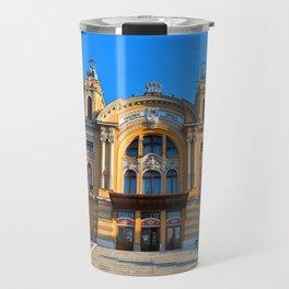 Cluj Napoca National Theatre Travel Mug