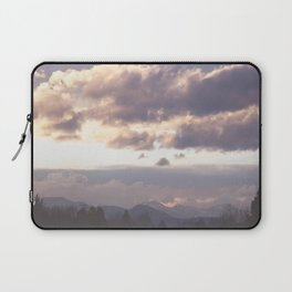 Rocky Mountain Lavendar Laptop Sleeve