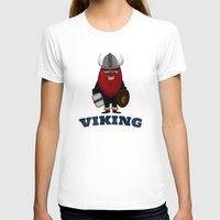 karl T-shirts featuring Viking Karl by ericbennettart