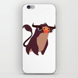 CUTE COW iPhone Skin