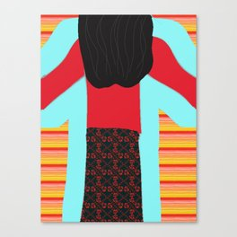 The Magic Sweatshirt Children's Book Cover Art Canvas Print