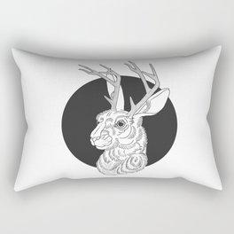 The Jackelope Rectangular Pillow