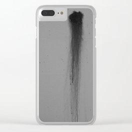 Dark Smear Clear iPhone Case