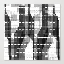 Architecture Lightning Canvas Print