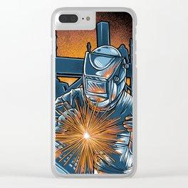 I'm Welder Clear iPhone Case