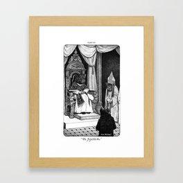 The Infallible One  Framed Art Print
