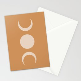 Moon Minimalism - Desert Sand Stationery Cards