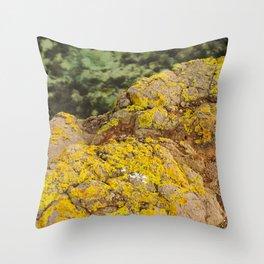 AYM - Australian Yellow Moss Throw Pillow