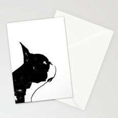 Boston Terrier Dog Art Stationery Cards