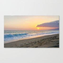 Zuma Sunset Canvas Print